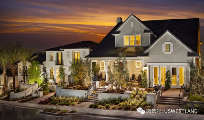 Brand new villas in Orange City, Los Angeles, with a wide view and a full view of the bustling city starting from $1.634 million