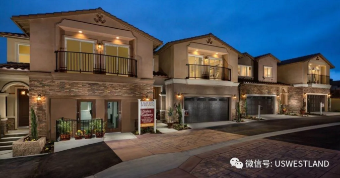 New properties in Chino Hills, Los Angeles, hot-selling bamboo shoots, they were robbed as soon as they opened, starting at $587,000