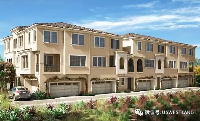 Brand new townhouses in Los Angeles Lake Forest, surrounded by mountains and rivers, prosperous from $615,000